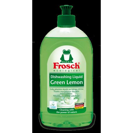 Indų plovimo skystis su žaliąja citrina