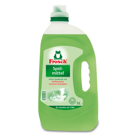 Ekologiškas Indų ploviklis su žaliąja citrina