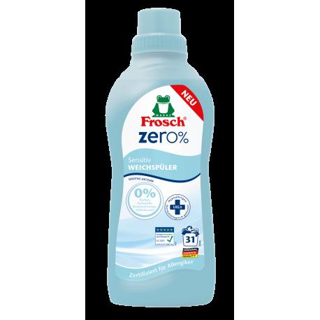 Frosch Zero% Odos nedirginantis skalbinių minkštiklis 750ml